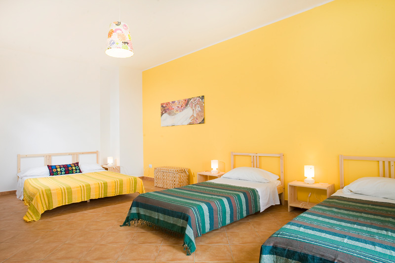 La Gatta Bianca Bed and Breakfast a Oliveri - Sicilia - Le camere